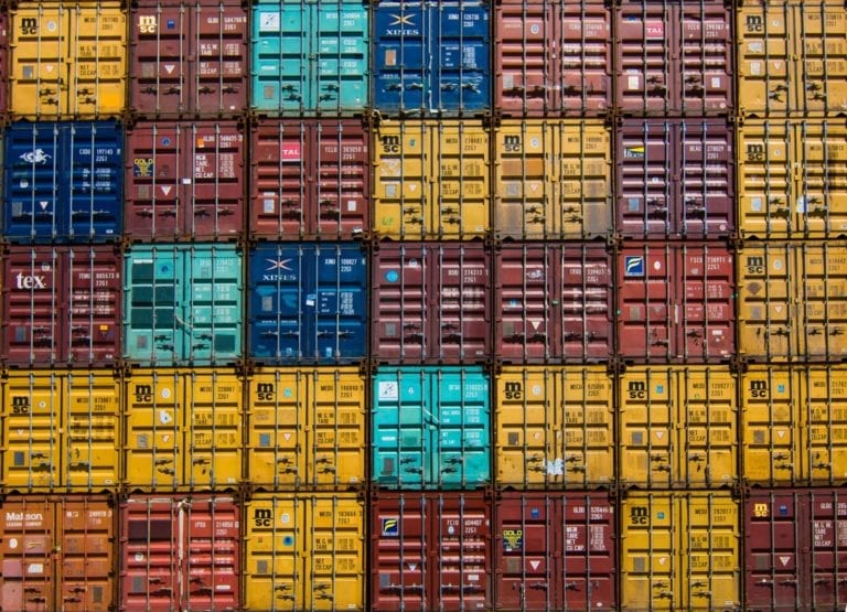 Multi asset - colourful containers