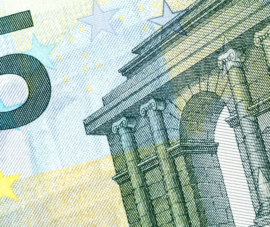 Investment funds 5 euro note pic
