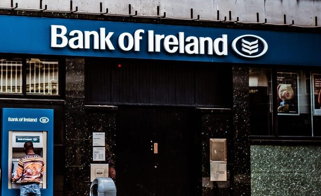 Bank of Ireland pension branch