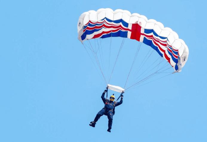 Union Jack Parachute Pic