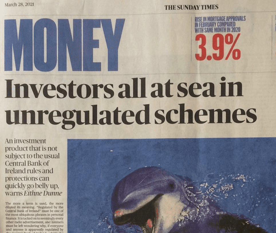 Sunday Times 210328A &Ndash; How Not To Invest: 5 Investments To Avoid During 2021